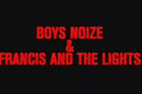 "Still aus dem Lyricsvideo zu ""Why Not?"" von Boys Noize und Francis and the Lights"